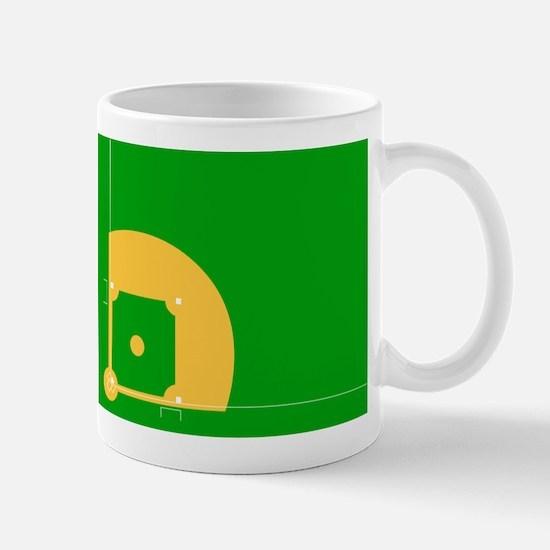 Baseball Field Mug