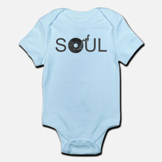Soul Music Vinyl Infant Bodysuit
