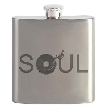Soul Music Vinyl Flask