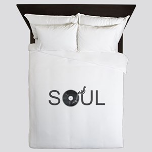 Soul Music Vinyl Queen Duvet
