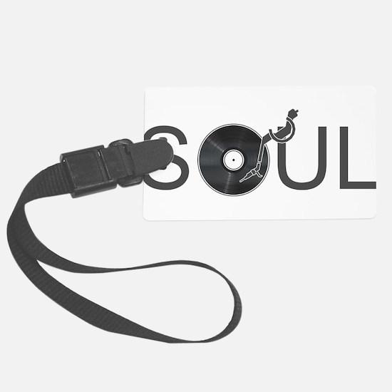 Soul Music Vinyl Luggage Tag