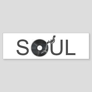 Soul Music Vinyl Sticker (Bumper)