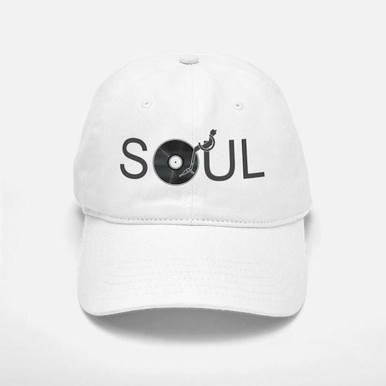 Soul Music Vinyl Baseball Baseball Cap