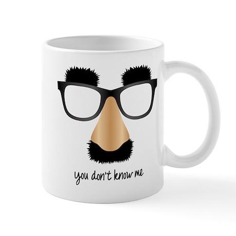Disguise Glasses Mug