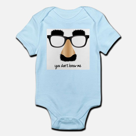 Disguise Glasses Infant Bodysuit