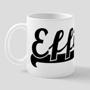 Black jersey: Effie Mug