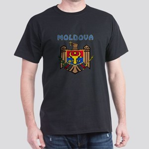 Moldova Coat of arms Dark T-Shirt