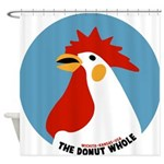 Donut Whole Shower Curtain