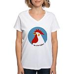 Donut Whole Women's V-Neck T-Shirt