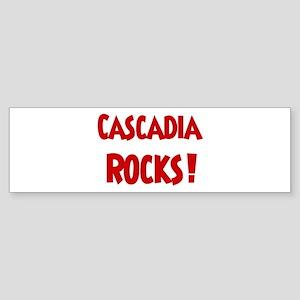 Cascadia Rocks Bumper Sticker
