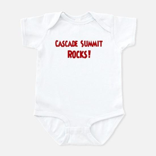 Cascade Summit Rocks Infant Bodysuit