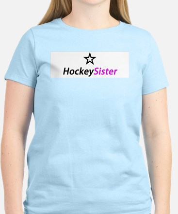 HockeySister Women's T-Shirt with star