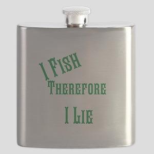 I fish i lie Flask