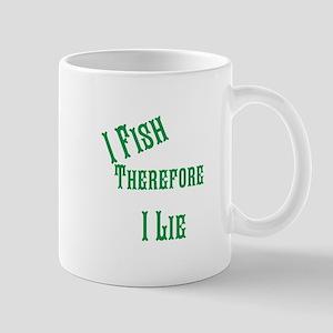 I fish i lie Mug