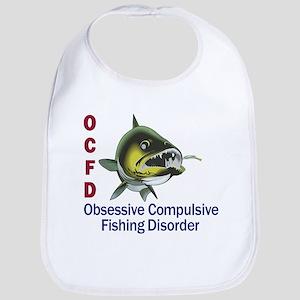 Obsessive Compulsive Fishing Disorder Bib