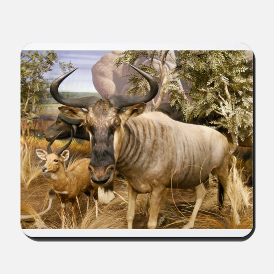 Wildebeest In The Wild Mousepad
