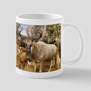 Wildebeest In The Wild Mug