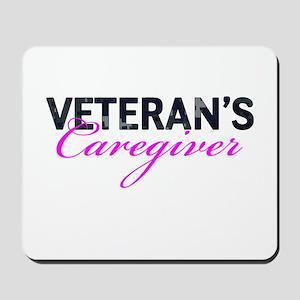Navy Vet's Caregiver Mousepad