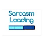 Sarcasm Loading Postcards (Package of 8)