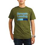 Sarcasm Loading Organic Men's T-Shirt (dark)