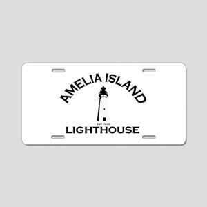 Amelia Island - Lighthouse Design. Aluminum Licens