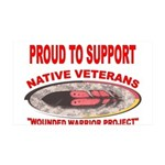 PROUD TO SUPPORT NATIVE VETERANS-WOUNDED WARRIOR 3