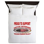 PROUD TO SUPPORT NATIVE VETERANS-WOUNDED WARRIOR Q
