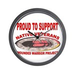 PROUD TO SUPPORT NATIVE VETERANS-WOUNDED WARRIOR W