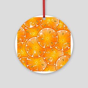Oranges Ornament (Round)