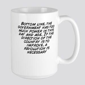 Bottom line, the government has too much power ...