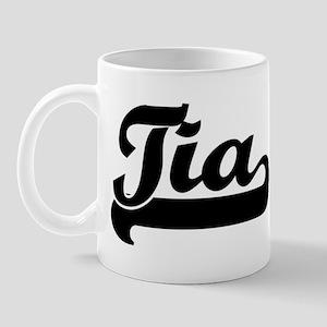 Black jersey: Tia Mug