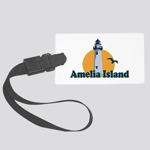 Amelia Island - Lighthouse Design. Large Luggage T