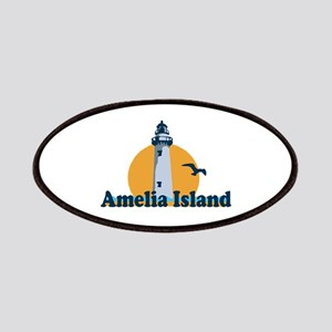 Amelia Island - Lighthouse Design. Patches