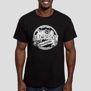 Jackson Old Circle Men's Fitted T-Shirt (dark)