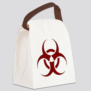 biohazard outbreak design Canvas Lunch Bag