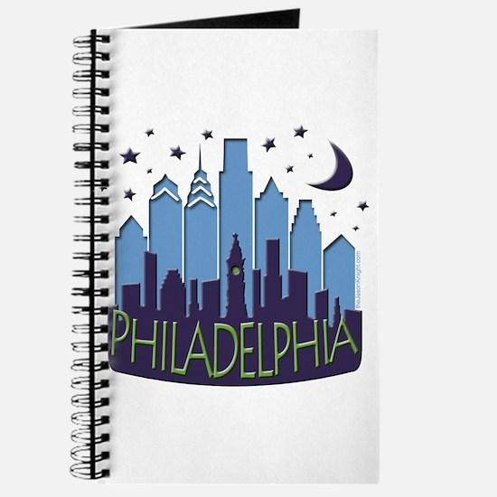 Philly Skyline Mega Cool Journal