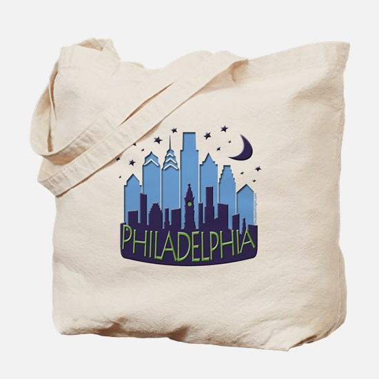 Philly Skyline Mega Cool Tote Bag