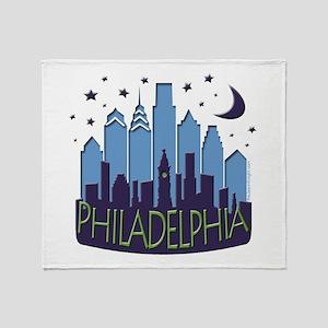 Philly Skyline Mega Cool Throw Blanket