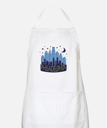 Philly Skyline Mega Cool Apron