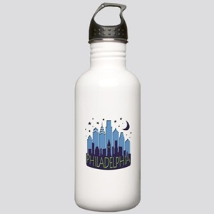 Philly Skyline Mega Cool Stainless Water Bottle 1.