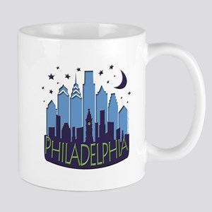 Philly Skyline Mega Cool Mug