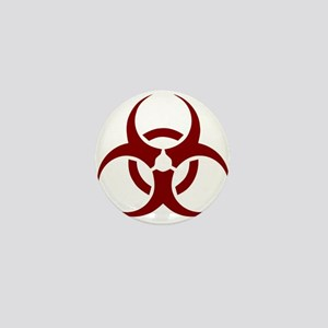 biohazard outbreak design Mini Button