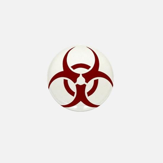 biohazard outbreak design Mini Button