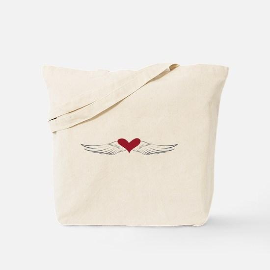 Angel Heart Tote Bag