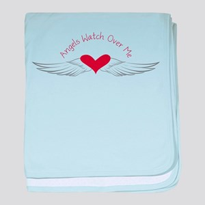 Angels Watch baby blanket