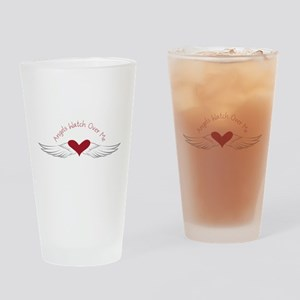 Angels Watch Drinking Glass
