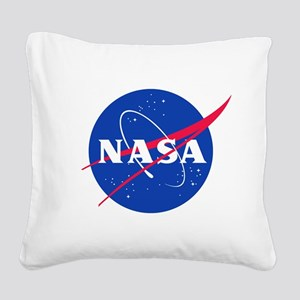 NASA Square Canvas Pillow