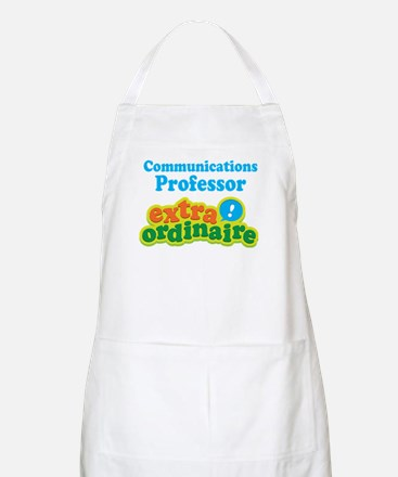Communications Professor Extraordinaire Apron