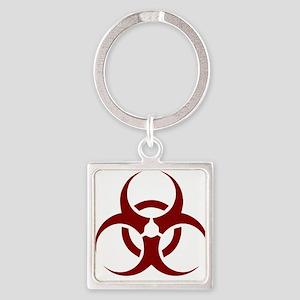 biohazard outbreak design Keychains