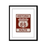Rancho Cucamonga Route 66 Framed Panel Print